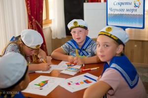 Открываем «Секреты Черного моря» в Детском клубе