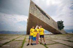 «Дружная семья» посетила город-герой Новороссийск.