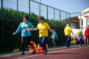 Спортивные игры первого заезда!