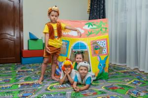 В дошкольном клубе с успехом прошла премьера сказки «Теремок».