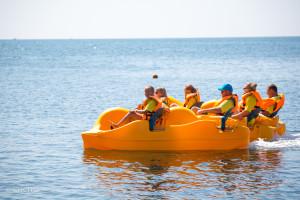 Морское приключение «Дружной семьи»!