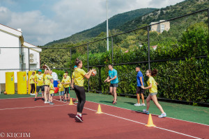 Спорт объединяет всех участников программы!