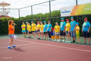 Открываем спортивные игры «Дружной семьи»!